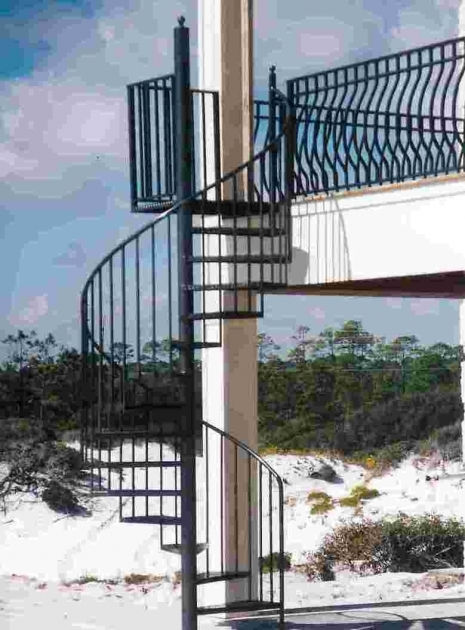 Metal Spiral Staircase Outdoor Craft Of Pensacola Pic 40