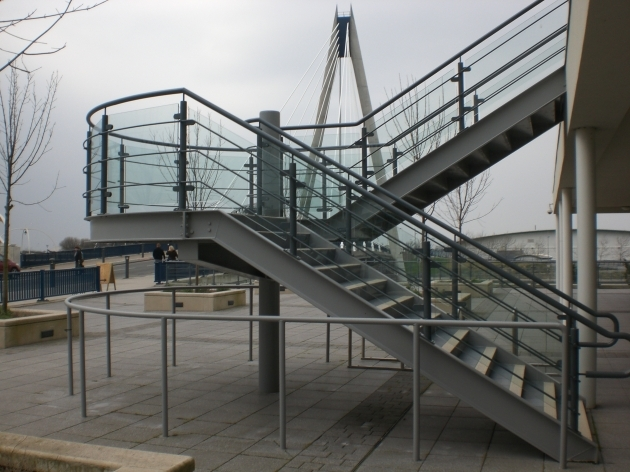 Metal Staircase Design And Steps Titan Forge Ltd Pic 17