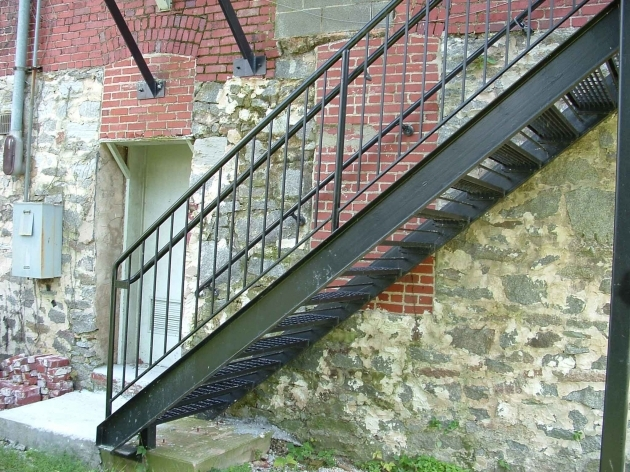 Metal Staircase Design Outside Stair Picture 28
