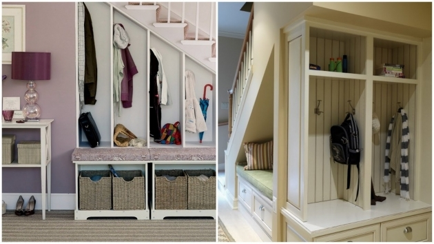 Shelves Under Stairs Storage Solution Ideas Open Walk In Closet With Built In Bench And Drawers Photos 27