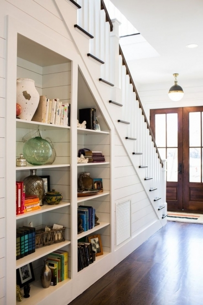 Shelves Under Stairs Storage Solution Ideas Pictures 04