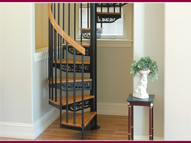 Small Spiral Staircase Kits Images 89