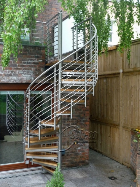 Spiral Staircases For Decks Home Design Beautiful Ideas Photo 75