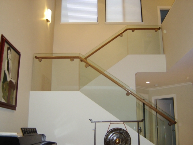 Staircase Glass Railing Designs Stair System Residential Modern Design Image 52