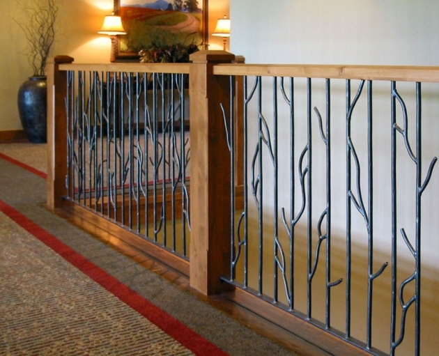 Staircase Railings Indoor Ideas Images 50