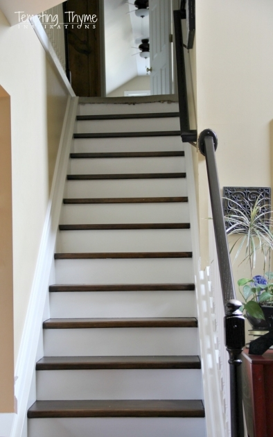 Tile Stair Risers Installation Ideas Images 02