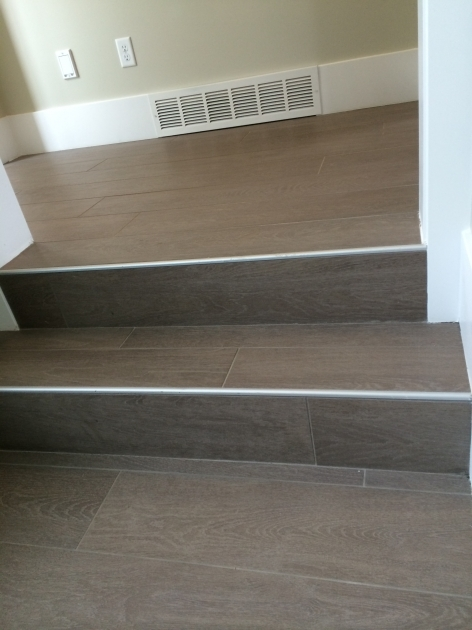 Tiling Stairs Edge Staircases Stair Risers Photo 85