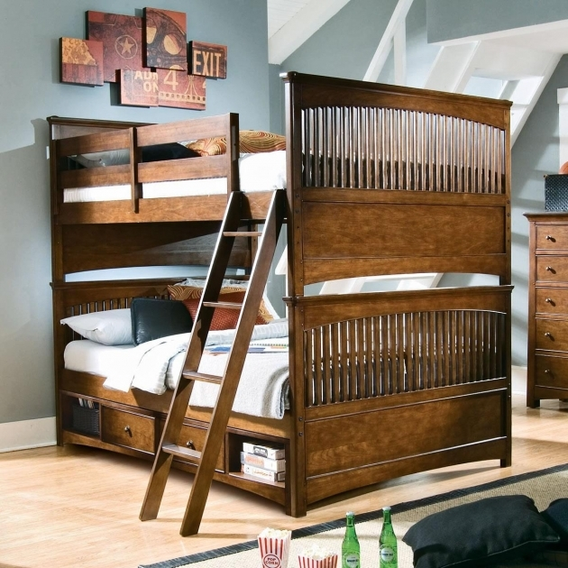 Twin Bunk Beds With Stairs And Desk Images 50