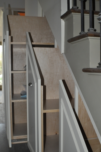 Under Stairs Storage Plans Ideas For Small Spaces Image 20