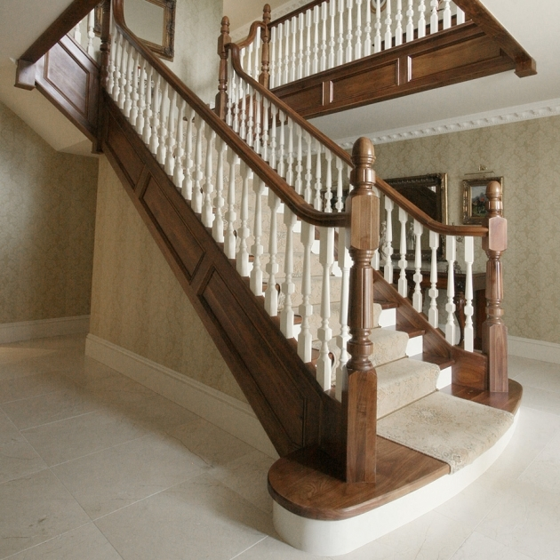 Wood Handrail Profiles Classic Stairs Pic 77