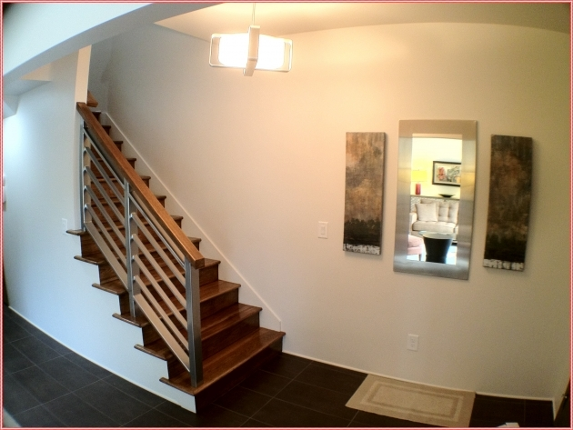 Wood Stair Railing Home Interior Ideas Picture 86