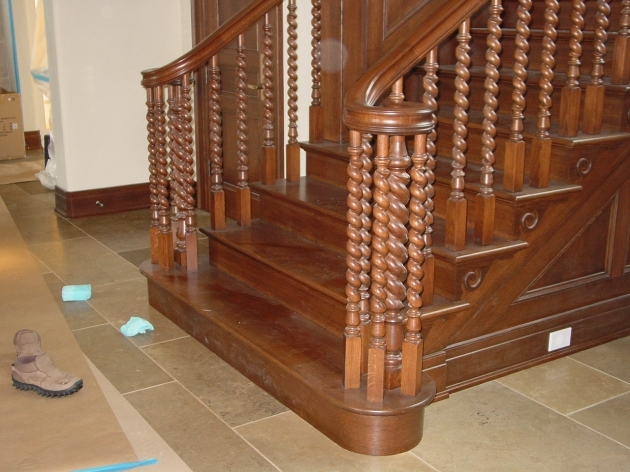 Wood Stair Railing Kits With Wooden Railing Stais Pictures 68