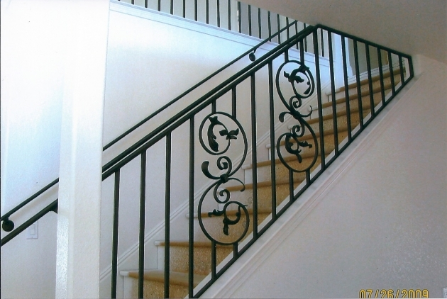 Wrought Iron Stair Railing Designs Images 40