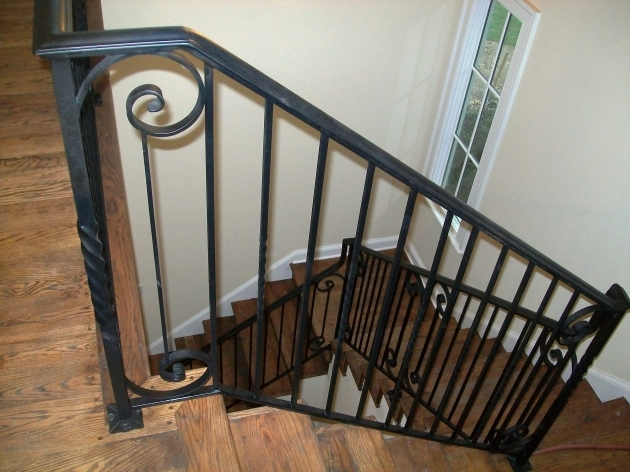 Wrought Iron Stair Railing Designs Pics 77