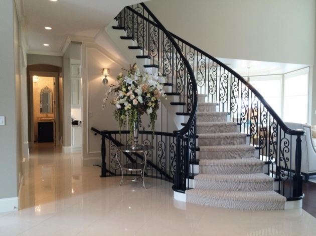 Wrought Iron Stair Railing Marie Hebson Luxury In Wolf Willow Image 40