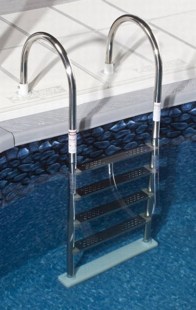 Above Ground Pool Stairs Stainless Steel Photo 15
