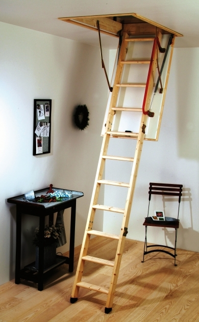 Attic Pulldown Stairs Easy Home Stair Design Photo 25