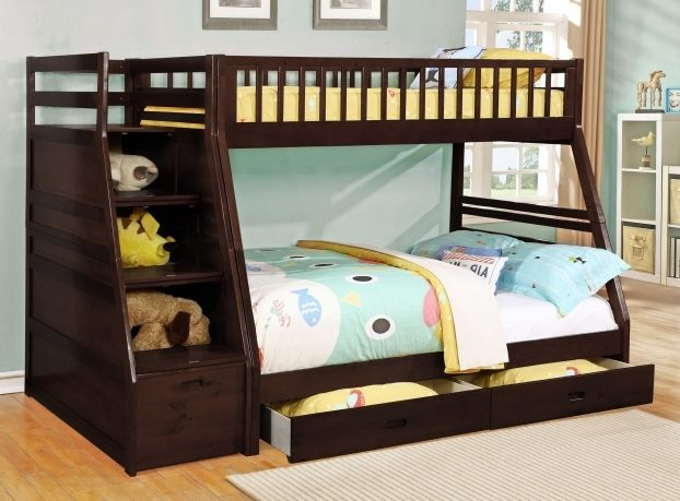 Bedroom Toddler Bunk Beds With Stairs Cheap Image 21