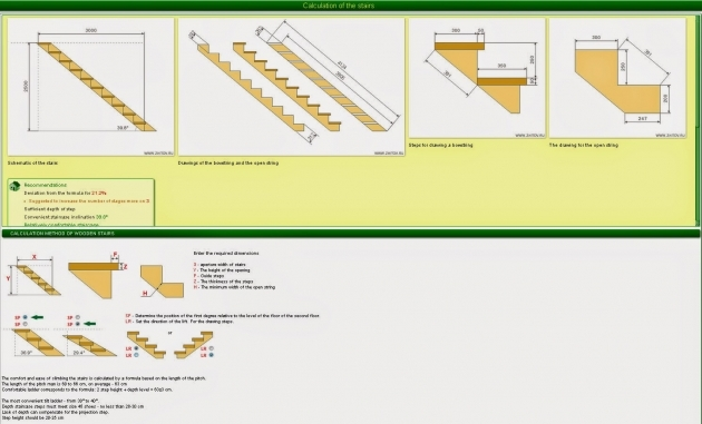 Build A Deck   Deck Stair Calculator Pictures 81