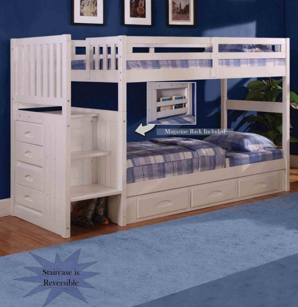 Cheap Bunk Beds With Stairs Full Over Pictures 86