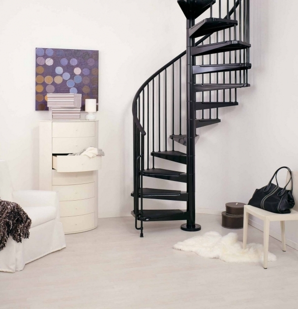 Cheap Spiral Staircase Kit Metal Steel And Wood Image 14