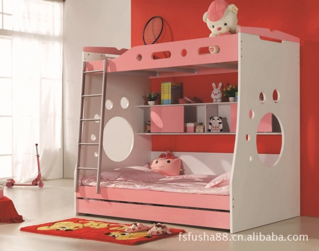 Cute Toddler Bunk Beds With Stairs And Slide Image 39