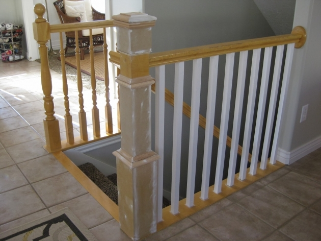 How To Replace Stair Spindles Banister Diy Decorating And Design Images 90