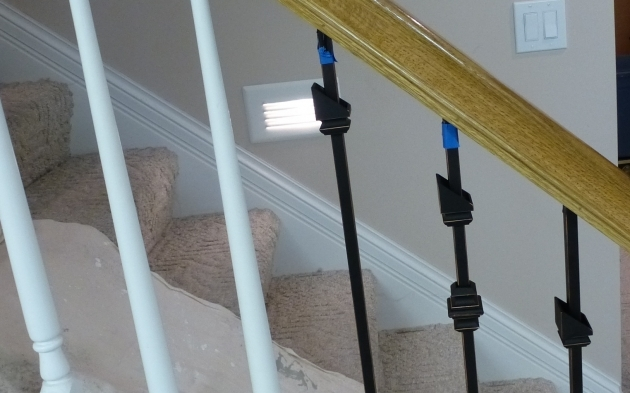 How To Replace Stair Spindles Wooden Stair Balusters Spindles With Wrought Iron Images 46