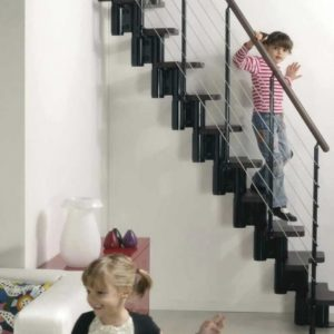 Stair Design for Small Spaces