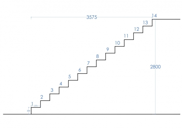 Large Stair Stair Design Calculation Pictures 27