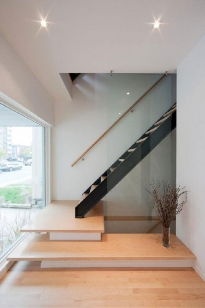 Open Staircase Interior Design In Modern Ideas Stair Design For Small Spaces Picture 43