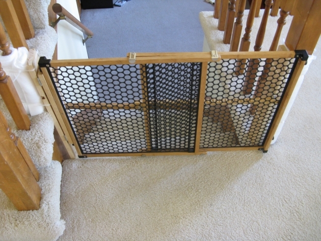 Pet Gates For Stairs Solution For Unusual Stairwell Image 77
