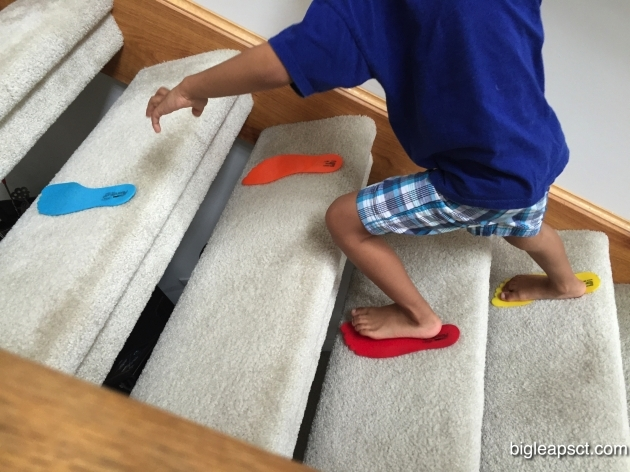 Physical Therapy Stairs Climbing Big Leaps Pediatric Photo 14