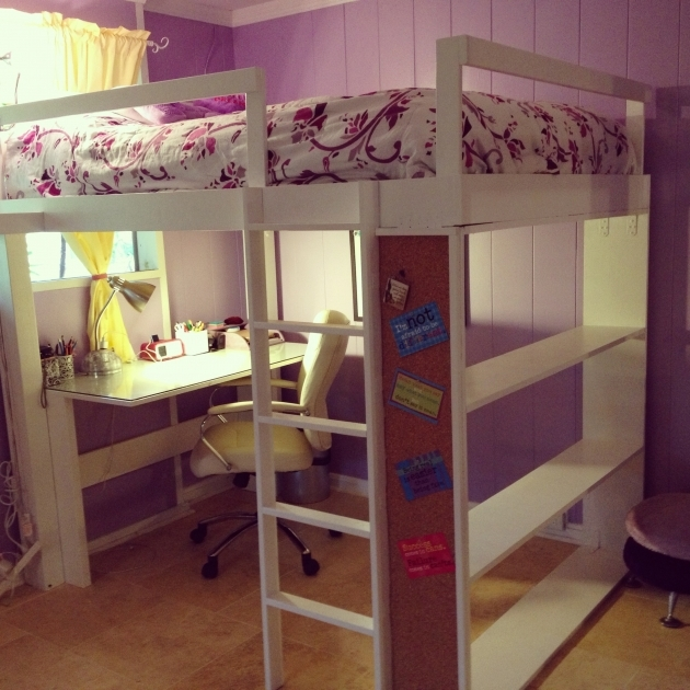 Playhouse Loft Bed With Stairs Bedroom Kids Furniture Sets Cool Single Beds For Teens Diy Picture 80