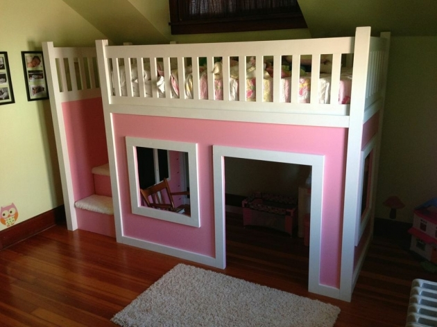 Playhouse Loft Bed With Stairs Plans Diy Projects Photo 60