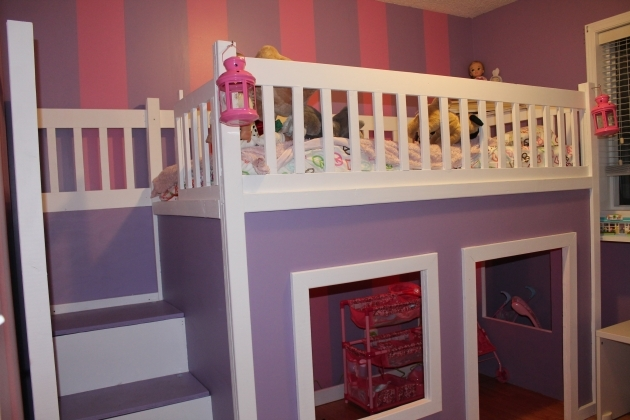Playhouse Loft Bed With Stairs Plans Picture 83