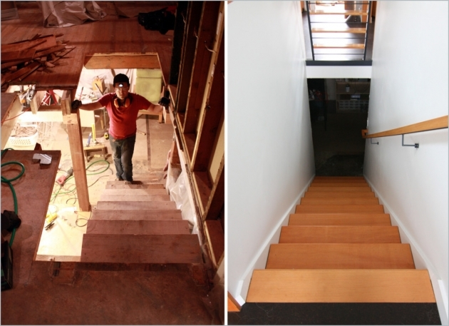 Replacing Basement Stairs Removing Part Of The Wall Photos 70
