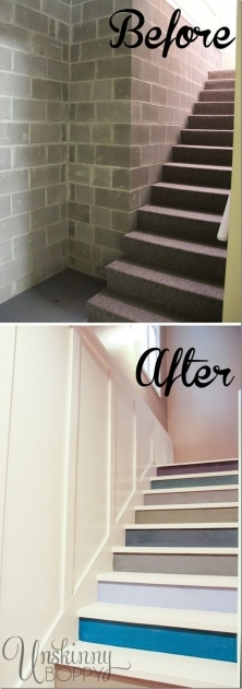 Replacing Basement Stairs Steps Images 42