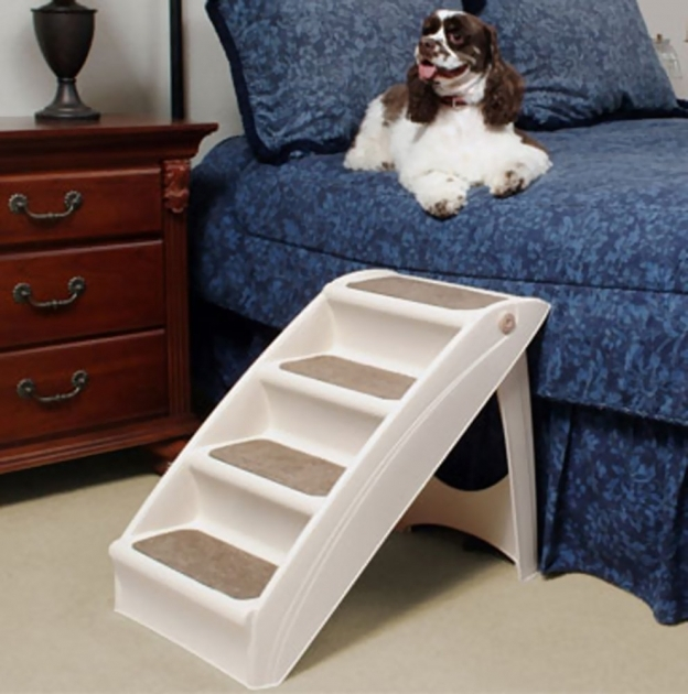 Solvit Pup Step Plus Pet Or Dog Stairs For Bed Images 07