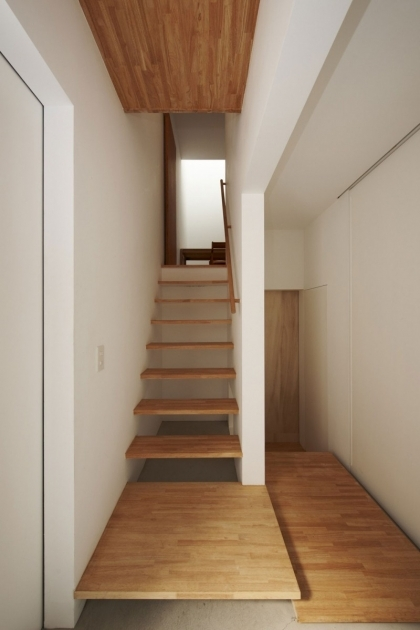 Stair Design For Small House Office Space Interior Design Ideas With White Wall And Wooden Staircase Images 74