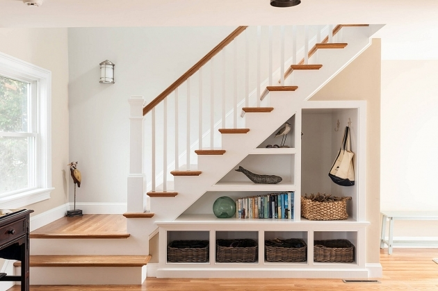 Stair Design For Small House With Under Stair Storage Images 26