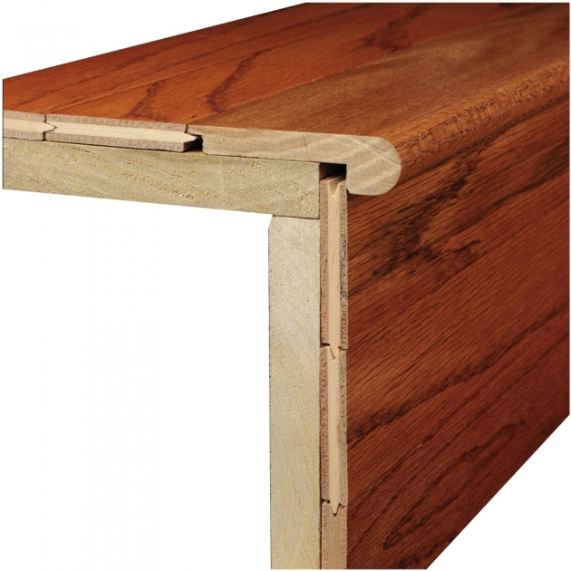 Stair Nose Lowes Bruce 312 In X 78 In Marsh Natural Wood Stair Nose Floor Photo 82