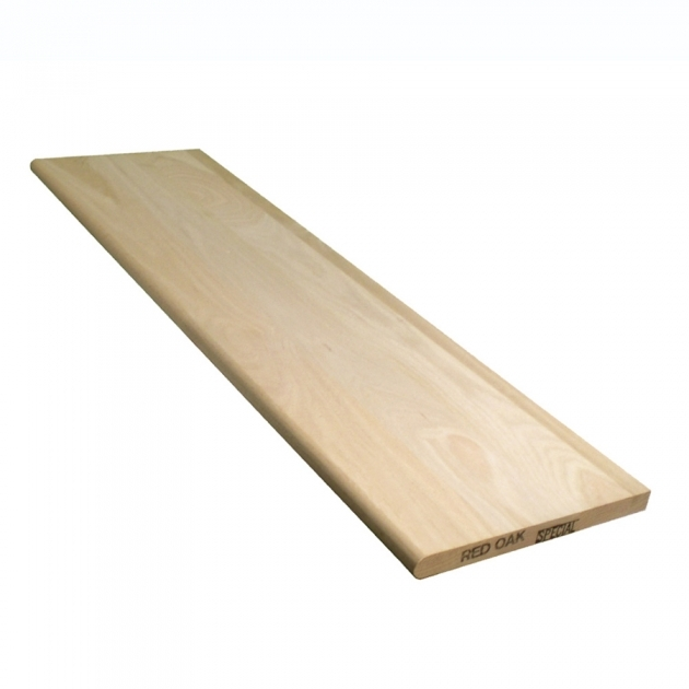 Stair Treads Lowes Stairtek 115 In X 36 In Unfinished Red Oak Wood Stair Tread Photo 57