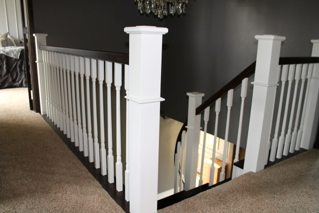 Staircase Railing Remodel Wood And Handrail Remodeling Construction Style Photo 87