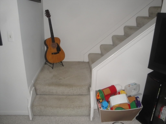 Stairs Without Railing Small Room Photo 84