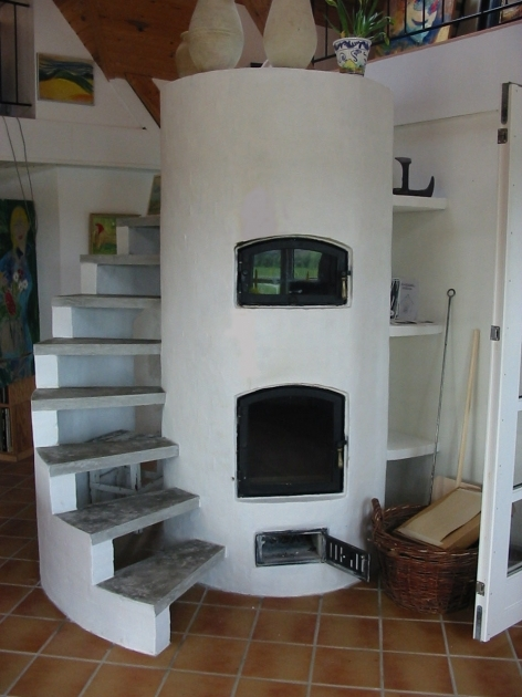 Thermal Mass Ovens Tiny House Spiral Staircase Photos 47