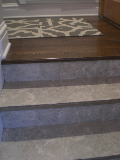 Tiling Stairs Edge Peel And Stick The Stairway Saga Continues Photos 73