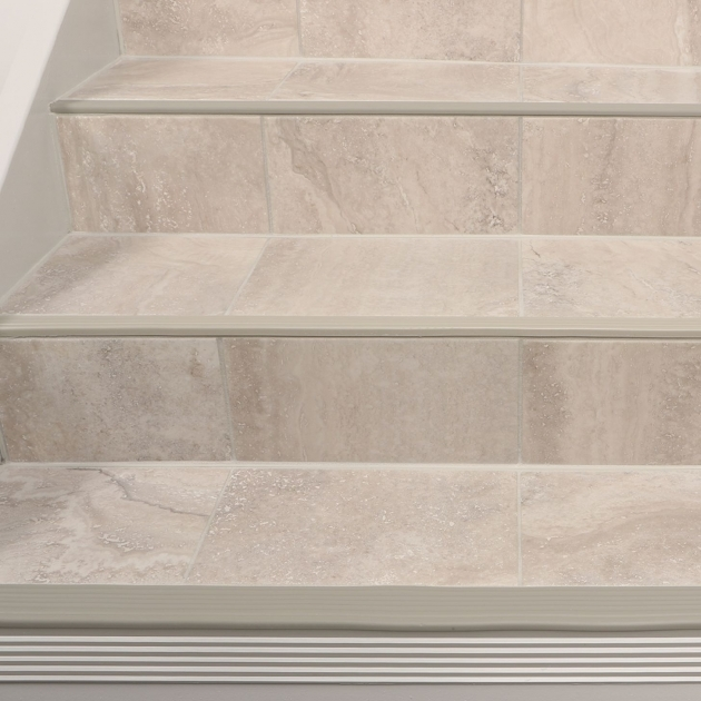 Tiling Stairs Edge Stairs Schluter Pic 82