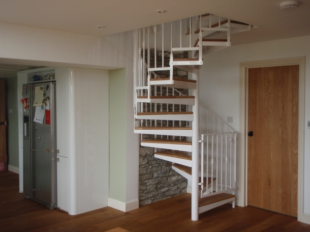 Tiny House Spiral Staircase For Small House Furniture Photos 46