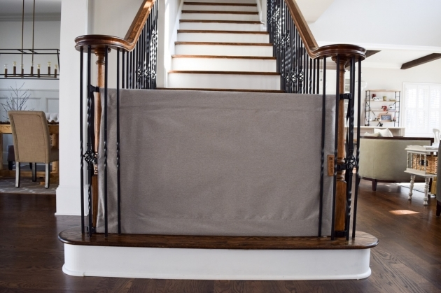 TSB BasicGray Safety Gates For Stairs Image 18